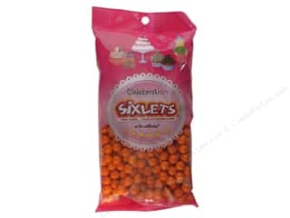 SweetWorks Celebration Sixlets 14oz Orange