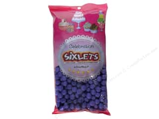Edible Decorations / Icing / Sprinkles: SweetWorks Celebration Sixlets 14oz Lavender