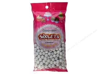 Bags Party & Celebrations: SweetWorks Celebration Sixlets 14oz White