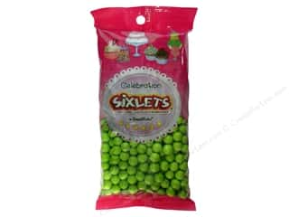 Bags Party & Celebrations: SweetWorks Celebration Sixlets 14oz Lime Green