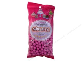 SweetWorks Celebration Sixlets 14oz Hot Pink