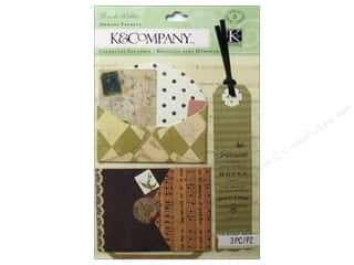 K & Company Stickers: K&Company Stickers Brenda Walton Maison Diamonds Memory Pockets