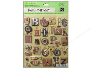 K&amp;Co Grand Adhesions Brenda Walton Maison Alphabet