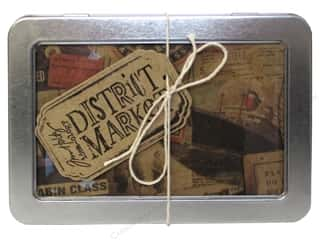 Tim Holtz District Market Notecard Set Destination