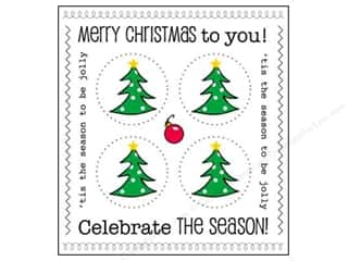 Plus Christmas: SRM Press Sticker Got Your Sticker Plus Christmas Tree