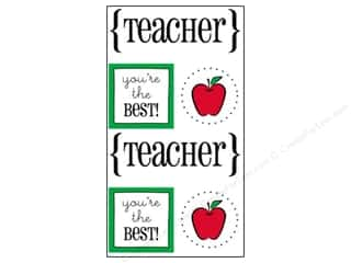 SRM Stickers Back to School: SRM Press Sticker Quick Cards Teacher