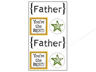 SRM Press Sticker Quick Cards Father