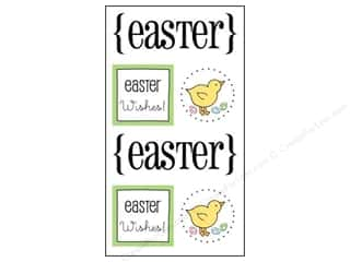 SRM Stickers Easter: SRM Press Sticker Quick Cards Easter