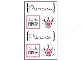 SRM Stickers Papers: SRM Press Sticker Quick Cards Princess