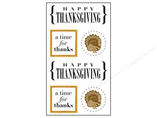 SRM Press Sticker Quick Cards Thanksgiving