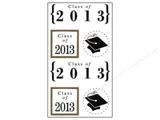SRM Press Sticker Quick Cards Class of 2013