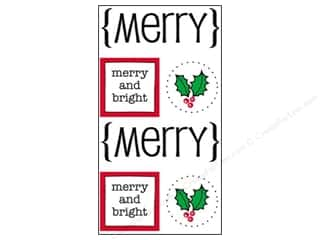 SRM Press Sticker Quick Cards Merry