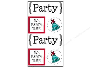 Party & Celebrations SRM Press Sticker: SRM Press Sticker Quick Cards Party