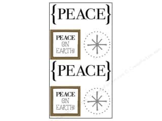 SRM Press Sticker Quick Cards Peace