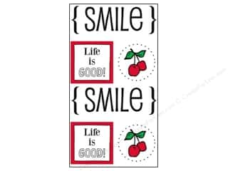 Fruit & Vegetables Imaginisce Sticker: SRM Press Sticker Quick Cards Smile