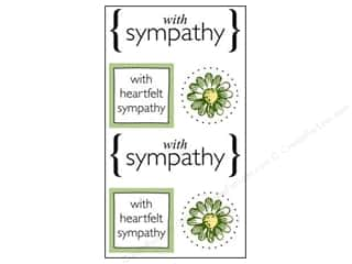 SRM Press Sticker Quick Cards Sympathy