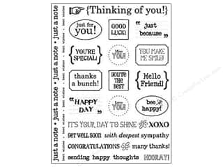 Theme Stickers / Collection Stickers: SRM Press Sticker Sentiments Thinking of You