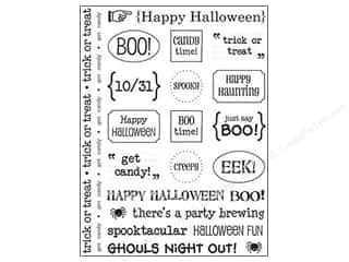 SRM Press Sticker Sentiments Halloween