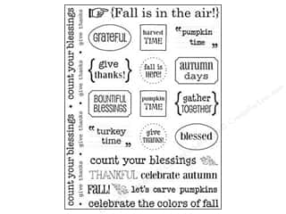 Fall / Thanksgiving Clearance: SRM Press Sticker Sentiments Fall