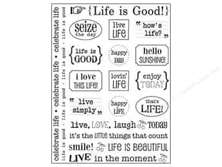 SRM Press Sticker Sentiments Life is Good