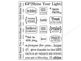 SRM Press Sticker Sentiments Shine Your Light