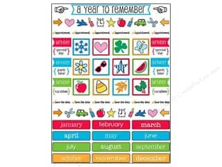 Party & Celebrations SRM Press Sticker: SRM Press Sticker Calendar Companion