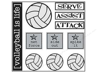 SRM Press Sticker Have A Ball Volleyball
