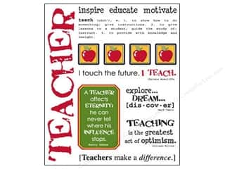Clearance Back To School: SRM Press Sticker Say It With Stickers Teacher