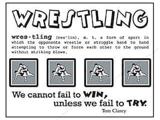 SRM Press Sticker SIWS Wrestling