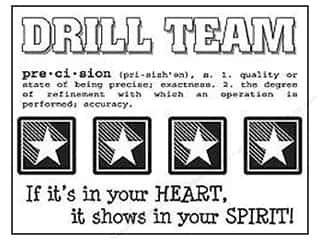 SRM Stickers Back to School: SRM Press Sticker Say It With Stickers Drill Team