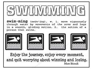 SRM Stickers: SRM Press Sticker Say It With Stickers Swimming