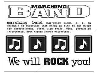 Music & Instruments Stickers: SRM Press Sticker Say It With Stickers Marching Band