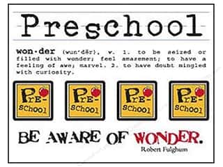SRM Stickers Back to School: SRM Press Sticker Say It With Stickers Mini Preschool