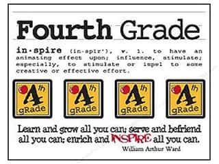 SRM Stickers Back to School: SRM Press Sticker Say It With Stickers Mini Fourth Grade