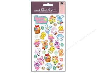 EK Sticko Sticker Sparkler Easter Friends