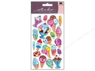 EK Sticko Stickers Sparkler Ice Cream Friends