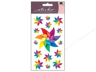 EK Sticko Sticker Sparkler Pinwheels