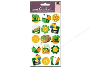 Mothers Day Gift Ideas Scrapbooking: EK Sticko Stickers Sparkler Irish Seals