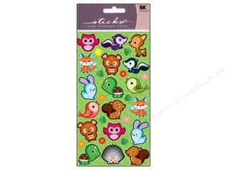 Outdoors Stickers: EK Sticko Stickers Cutie Critters