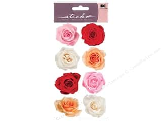 EK Sticko Stickers Rose Mix