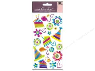 EK Sticko Stickers Sparkler Pretty Party