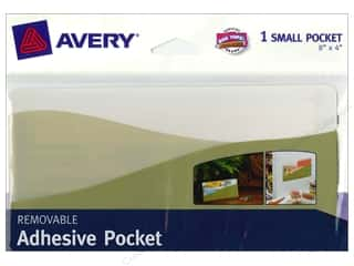 Avery Removable Wall Pocket 8 x 4 in. Sage Green