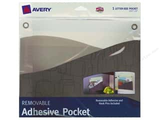 Avery Dennison: Avery Removable Wall Pocket 10 x 12 1/4 in. Taupe