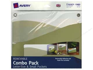 Avery Adhesive Pocket Wall Combo Letter Size/Small Cottage