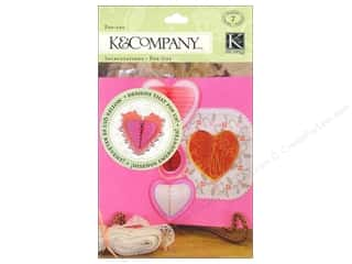 Gifts paper dimensions: K&Company Embellishments Pop Ups Honeycomb Cupid