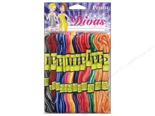 Floss Kid Crafts: Six Strand Embroidery Floss Pack Divas 36pc by Prism