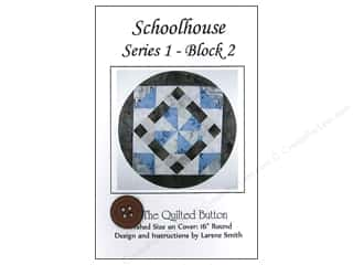 Quilted Button, The: Quilted Button Schoolhouse Series 1 Block 2 Pattern