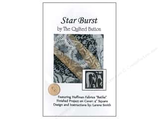 Stars Patterns: Quilted Button Star Burst Pattern