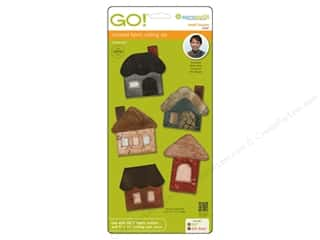 AccuQuilt Go! Die Small Houses by Reiko Kato