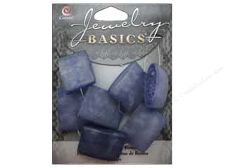 ICE Resin $7 - $9: Cousin Bead Resin Square 22mm Blue 7pc